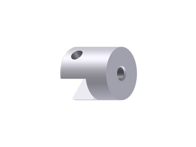 Universal Threaded Panel/Shelf Grip