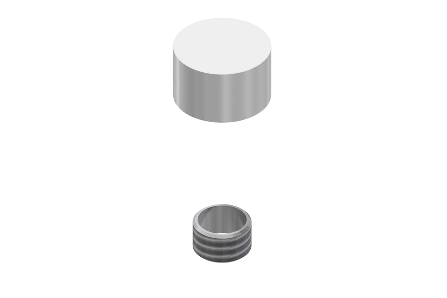 Flush Mount Screw Cap (10mm diameter)
