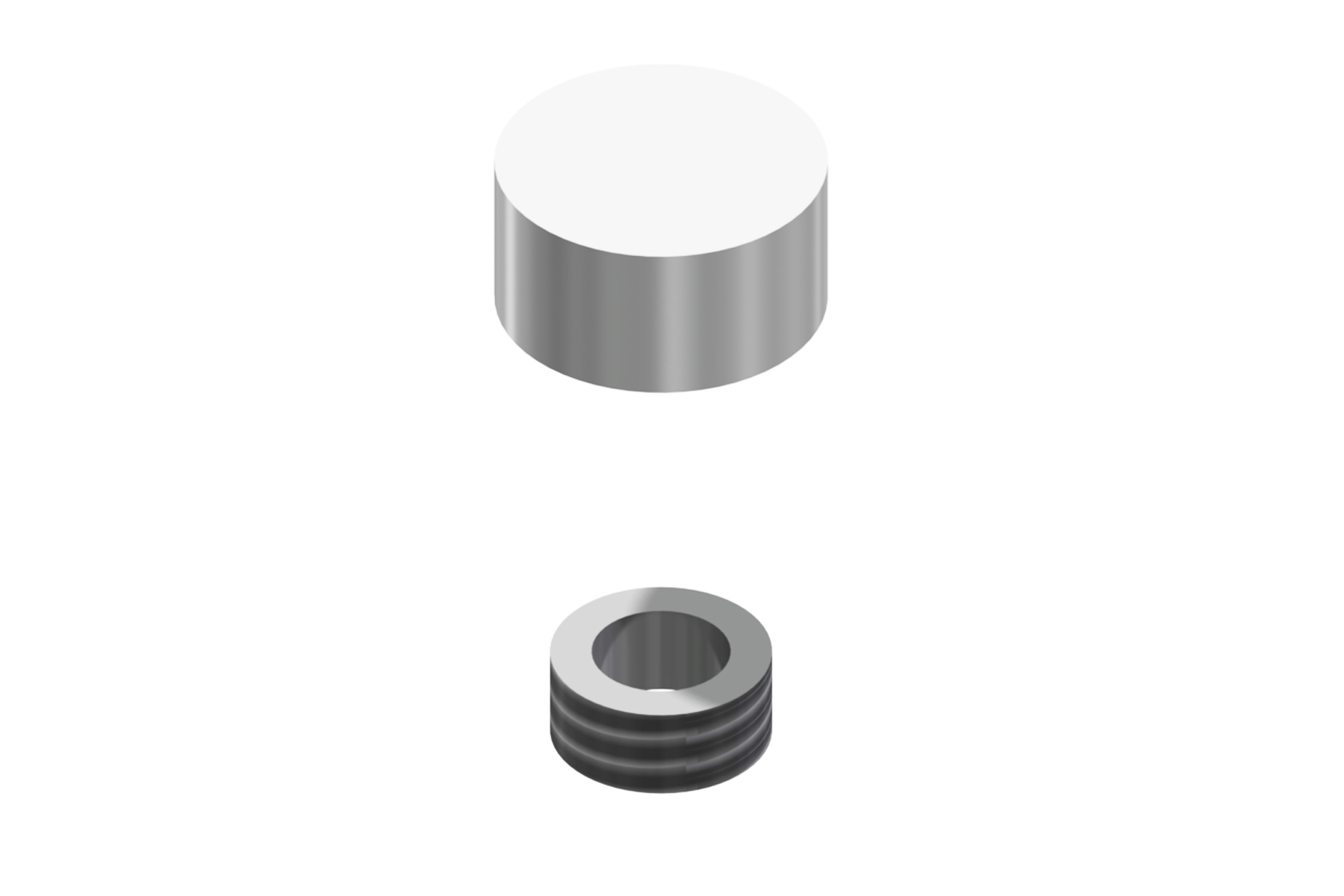 Flush Mount Screw Cap (12mm diameter)